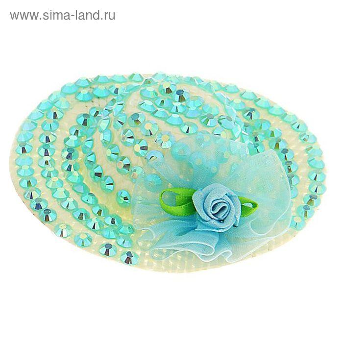 Карнавальный зажим шляпка, цвета МИКС