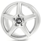 Диск MSW 14 7,0x16 5x108 ET45 d73,1 Full Silver (W2900350309) dPLY