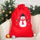 Мешок Деда Мороза «Снеговик»