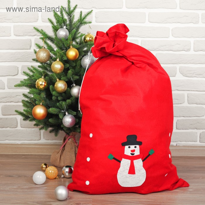 "Bag Of Santa Claus ""Snowman"""