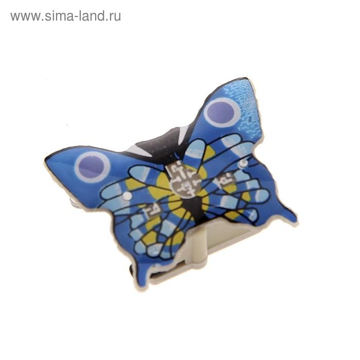 """Карнавальный значок световой """"Бабочка"""""""