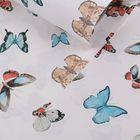 "Бумага упаковочная ""Бабочки"", 60 х 60 см"
