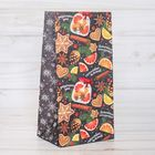 Пакет подарочный без ручек «Счастливых моментов», 10 × 19.5 × 7 см