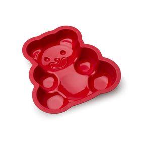 Форма для выпечки Oursson, BW2500S/RR, мишка, красная