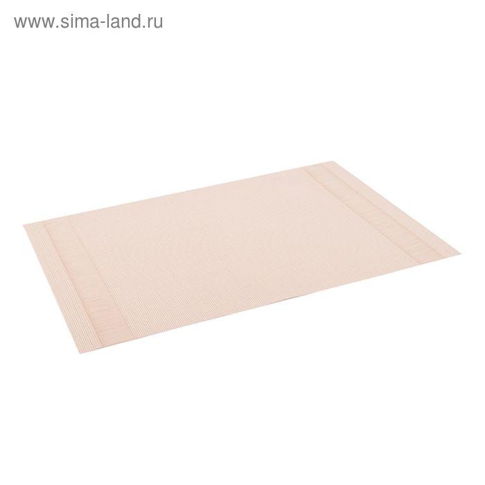Салфетка для сервировки Oursson, HS89601/MC, цвет светло-бежевый