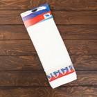 """Полотенце махровое """"Russia ПЦ-2601-2295-1 1сорт (2194) цв. 101, 50х90 см, 100% хлопок"""