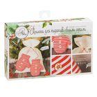Мешки для подарков «Варежки», набор для шитья, 16,3 × 10,7 × 2,5 см