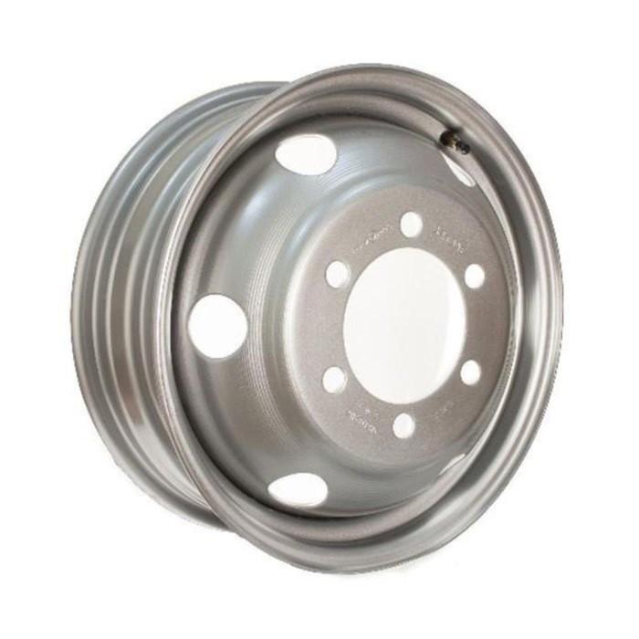 Грузовой диск Asterro M20 6x17,5 6x222,25 ET117 d161 Silver (1721)
