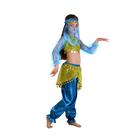 """Карнавальный костюм """"Алсу. Морская волна"""", повязка, топ с рукавами, штаны, р-р 34, рост 134 см - фото 105521581"""