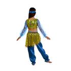 """Карнавальный костюм """"Алсу. Морская волна"""", повязка, топ с рукавами, штаны, р-р 34, рост 134 см - фото 105521582"""