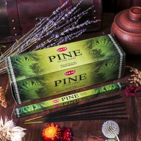 Благовония 'HEM' 8 палочек угольные pine Ош