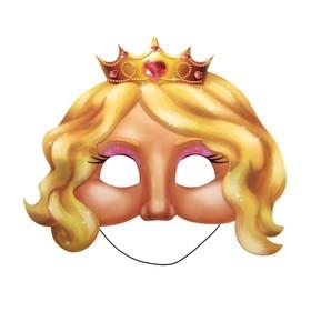 "Маска карнавальная ""Принцесса"" (набор 6 шт.)"