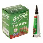 Хна для ногтей Golecha Nail Green зелёный, туба, 11 г
