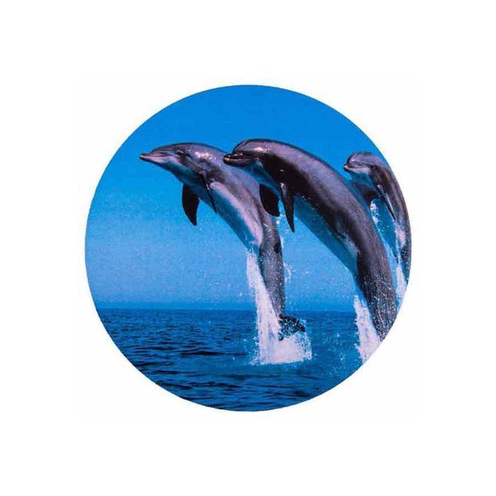 Чехол запасного колеса Дельфины R15 SKYWAY, эко-кожа (полиэстер)