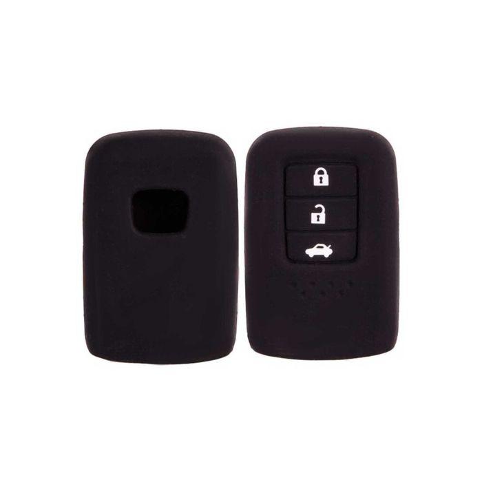 Чехол на ключ автомобильный SKYWAY, силиконовый HONDA ACCORD (3 кнопки)