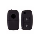 Чехол на ключ автомобильный SW силиконовый VOLKSWAGEN, 2 кнопки