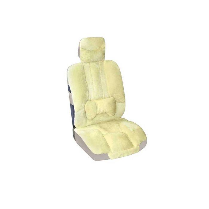 Авточехлы SKYWAY Arctic, искусственный мех, 2 предмета, с подушечкой для поддержки спины