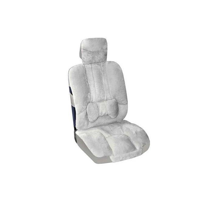 Авточехол SKYWAY Arctic, набор 2 предмета, с подушечкой для поддержки спины