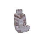 Чехлы сиденья меховые искусственные SKYWAY Arctic, 5 предметов, коричневый