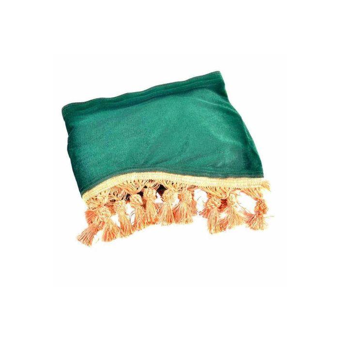 Ламбрекен лобового стекла со шторками SKYWAY, 140см/46x60см, Зеленый