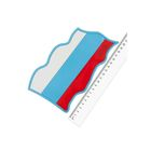 Коврик панели противоскользящий SW 190x105 мм Флаг Россия