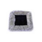Накидка сиденья SKYWAY Arctic, искусственный мех, набор 2 предмета, без спинки, черный