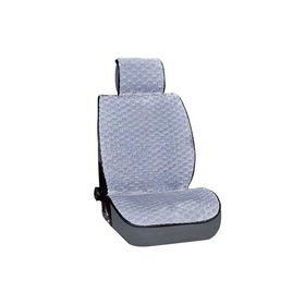Накидка сиденья меховая искусственная мутон 2 предм. Skyway Arctic, серый, соты