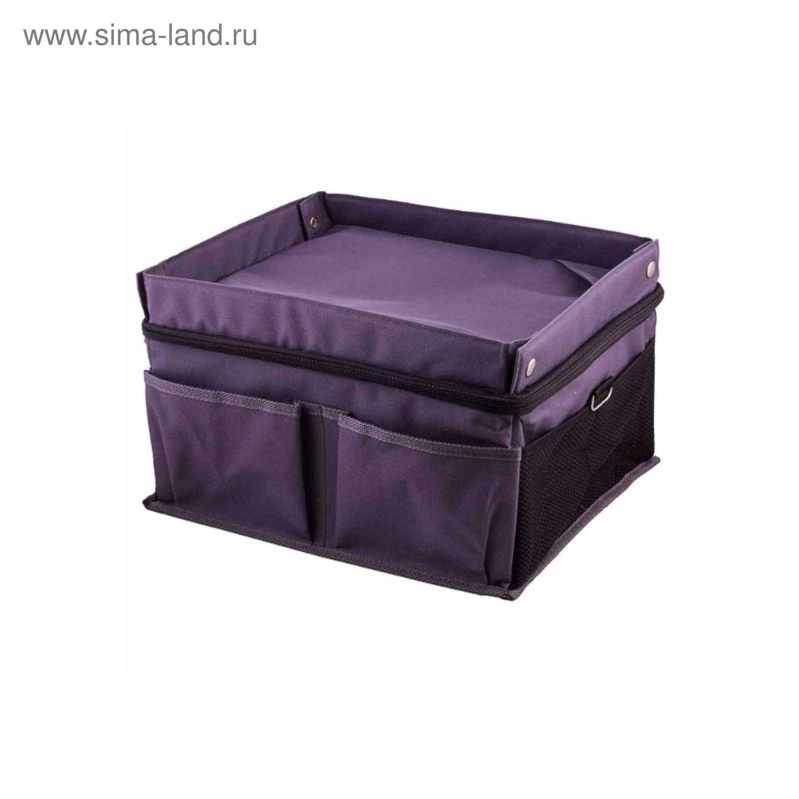 7b0edd9254bd Органайзер SKYWAY, 35х29х17см, серый сумка (2613398) - Купить по ...