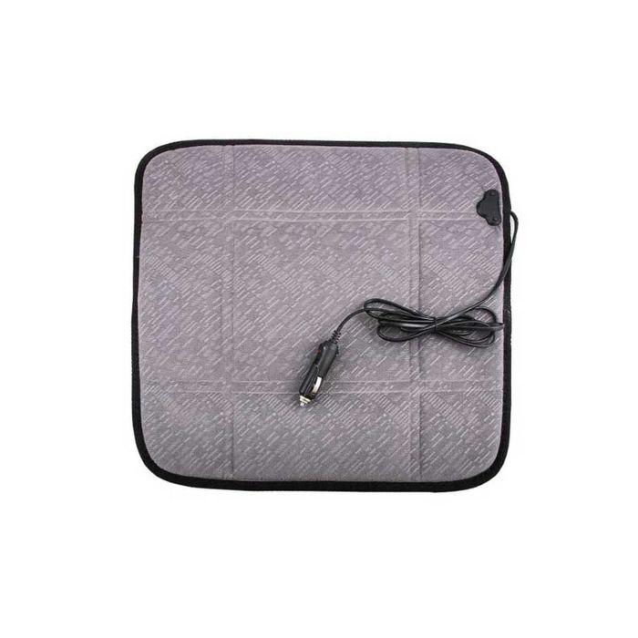 Подогрев сиденья SKYWAY, серый, 12 В, 43 х 43см, 2,5А-3А