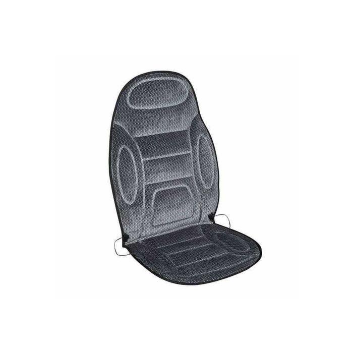 Подогрев сиденья SKYWAY, с терморегулятором, 12 В, 120 х 51 см, 2,5 А-3 А, серый