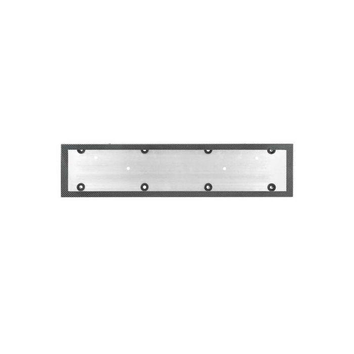 Рамка номерного знака SKYWAY, металлическая, карбон, 1 шт.