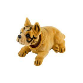 """Собака большая в машину с освежителем SKYWAY """"Яблоко"""", Боксер, 16x9x10,5 см"""