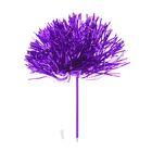 """Ручка """"Помпон"""", цвет фиолетовый"""