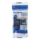 A set of ink cartridges for fountain pen, 6 PCs, blue, in package