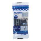 Набор картриджей синих 6шт для перьевой ручки в пакете