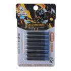 Набор картриджей для перьевой ручки, 8 шт., синие, на блистере