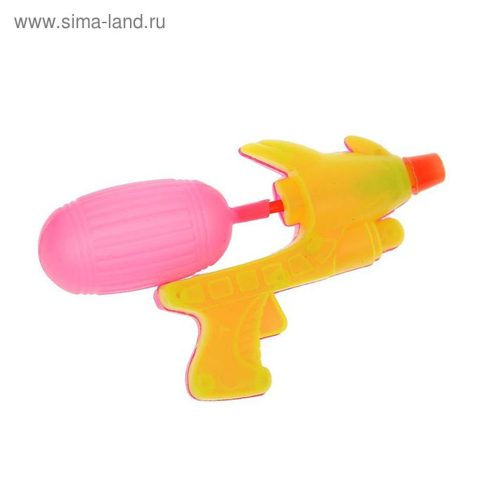 Брызгалка пистолет, цвета МИКС