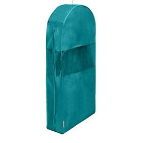 Чехол для шуб  LUX длинный, цвет бирюзовый