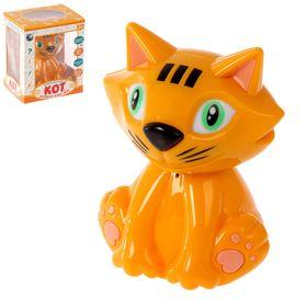 Игрушка интерактивная «Кот, который знает всё», цвет рыжий