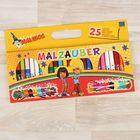 Фломастеры Magic Pens 12+9+4: 12 двухцветных, 9 однотонных + 4 белых