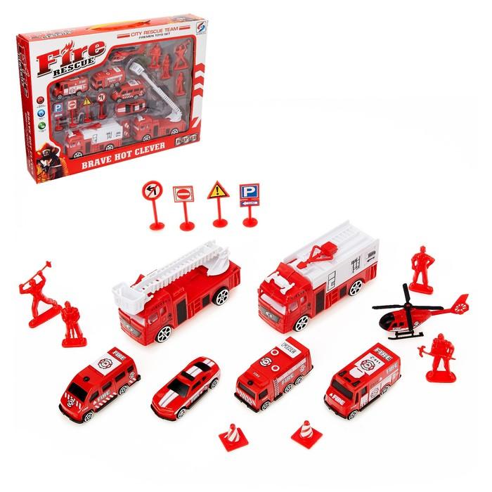 Набор игровой «Пожарная команда»