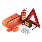 Набор автомобилиста REXXON, 34 продукта, водонепроницаемая сумка