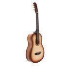 Акустическая гитара 6-ти струнная, менз. 650мм., струны металл, головка с пазами