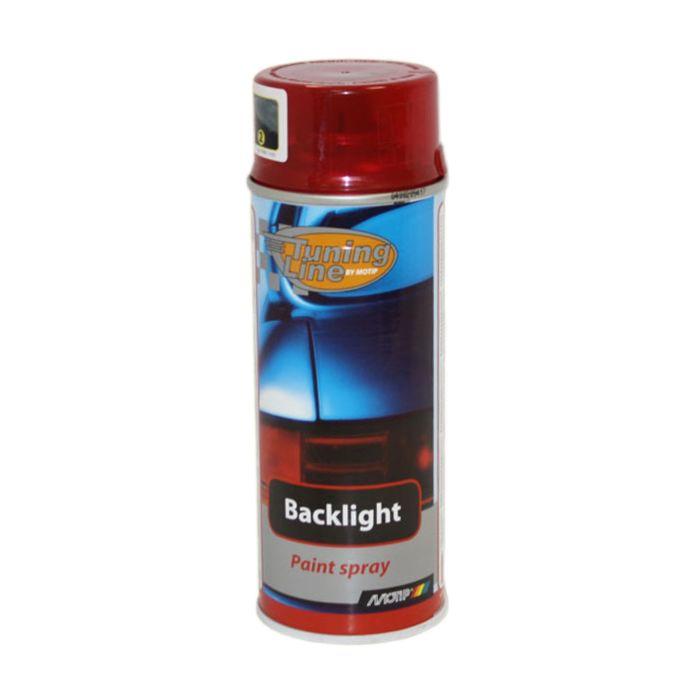 Лак для тонировки фонарей красный, 400 мл, MOTIP