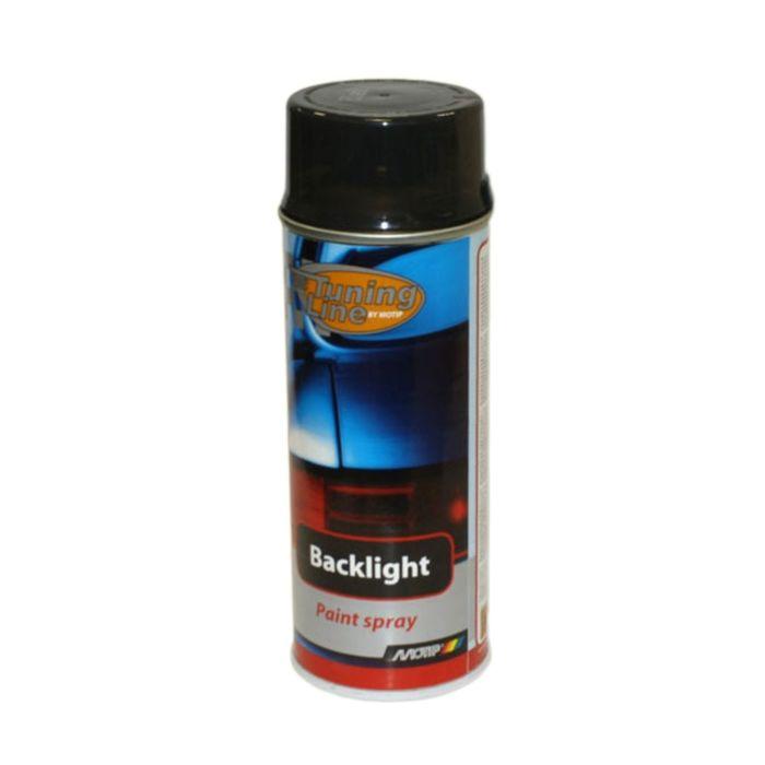 Лак для тонировки фонарей черный, 400 мл, MOTIP