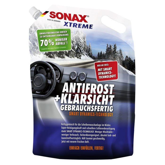 Автостеклоочиститель зимний Xtreme -20°, 3 л, SONAX