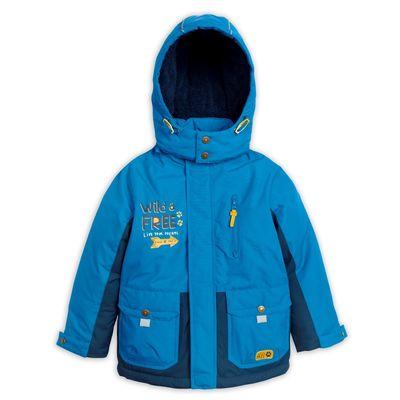 Куртка для мальчика, рост 104 см, цвет лазурный