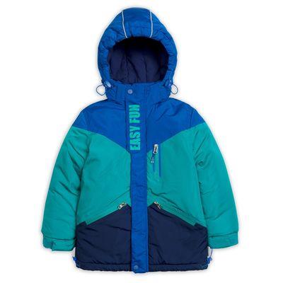 Куртка для мальчика, рост 116 см, цвет бирюза