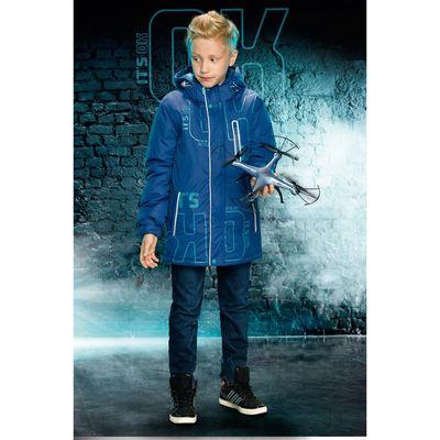 Куртка для мальчика, рост 164 см, цвет джинс BZWL5025/1