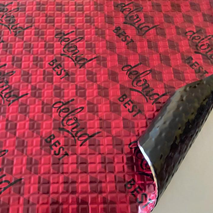 Виброизоляционный материал deloud Best 2, размер: 2х500х500 мм